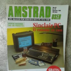 Videojuegos y Consolas: REVISTA AMSTRAD USER AÑO III NÚMERO 39. Lote 149679198