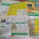 Videojuegos y Consolas: AMSTRAD PERSONAL COMPUTER PC1512 1986. POSTER, CARTEL O FOLLETO DEL ORDENADOR, 62 X 54 CM . Lote 150012530