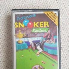 Videojuegos y Consolas: JUEGO AMSTRAD SNOOKER. Lote 150465578