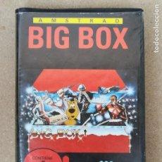 Videojuegos y Consolas: AMSTRAD CAJA CINTAS BIG BOX MCM SOFTWARE COMMANDO BOMBJACK SCOOBY DOO 1942. Lote 150594038