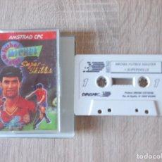 Videojuegos y Consolas: JUEGO AMSTRAD. MICHEL FUTBOL MASTER. DINAMIC. AMSTRAD. Lote 150794402