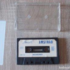 Jeux Vidéo et Consoles: JUEGO AMSTRAD. INVASORES. AMSOFT. SIN CARATULA. Lote 150798314