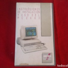 Videojuegos y Consolas: INSTRUCCIONES DE INSTALACIÓN Y USO DEL AMSTRAD PC 2000 - VHS -. Lote 151057734