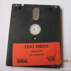 Videojuegos y Consolas: JUEGO PARA AMSTRAD DISC 1987 TEST DRIVE ACOLADE INC. Lote 151294274
