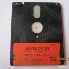 Videojuegos y Consolas: JUEGO PARA AMSTRAD PCP DISCO 1988 SKATE OR DIE. Lote 151296650