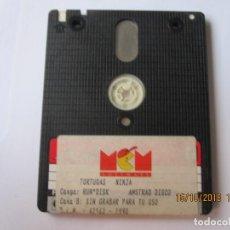 Videojuegos y Consolas: JUEGO PARA AMSTRAD PCP DISCO TORTUGAS NINJA. Lote 151297414