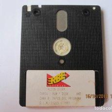 Videojuegos y Consolas: JUEGO PARA AMSTRAD DISCO ALIEN STORN. Lote 151297854