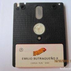 Videojuegos y Consolas: JUEGO PARA AMSTRAD DISCO EMILIO BUTRAGUEÑO LL. Lote 151298762