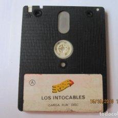 Videojuegos y Consolas: JUEGO PARA AMSTRAD DISCO LOS INTOCABLES A EN LA CARA B PARECE QUE PONE MUTAN ZONE . Lote 151299514