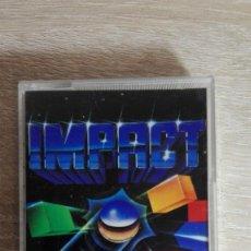 Videojuegos y Consolas: IMPACT-AMSTRAD CASSETTE-ESTUCHE METACRILATO-SYSTEM 4-AÑO 1988-MUY DIFÍCIL. Lote 151447702
