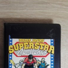 Videojuegos y Consolas: BRIAN JACKS SUPERSTAR CHALLENGE-AMSTRAD CASSETTE-ESTUCHE NEGRO-ZAFIRO-AÑO 1985. Lote 151531602