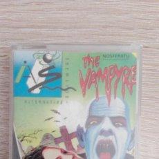 Videojuegos y Consolas: NOSFERATU THE VAMPYRE-AMSTRAD CASSETTE-BY PIRANHA-SYSTEM 4-AÑO 1988-MUY BUEN ESTADO,. Lote 152512558