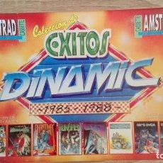 Videojuegos y Consolas: COLECCIÓN ÉXITOS DINAMIC 1985-1988-AMSTRAD CASSETTE-11 JUEGOS-DON QUIJOTE I-II-CAMELOT WARRIORS ETC. Lote 153419306