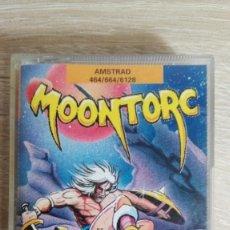 Videojuegos y Consolas: MOONTORC-AMSTRAD CASSETTE-ATLANTIS-AÑO 1991-JUEGAZO ARCADE-MUY DIFÍCIL.. Lote 153589658