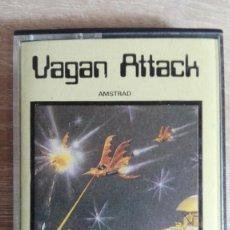 Videojuegos y Consolas: VAGAN ATTACK-AMSTRAD CASSETTE-EL PRIMERO DE ATLANTIS-AÑO 1987.DIFÍCIL.. Lote 154390726