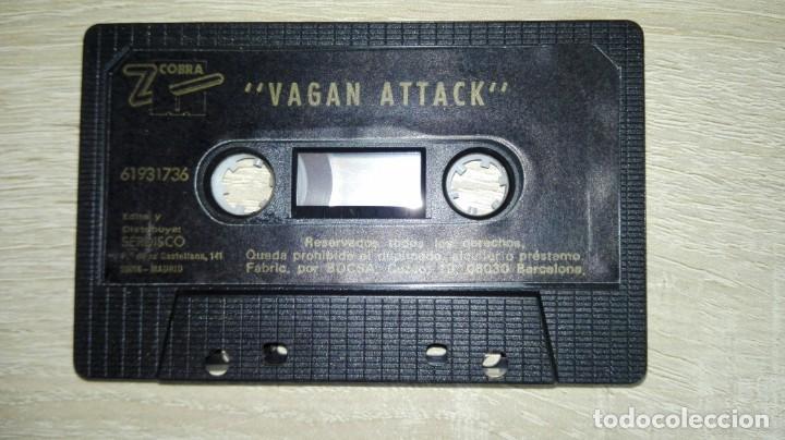 Videojuegos y Consolas: VAGAN ATTACK-AMSTRAD CASSETTE-EL PRIMERO DE ATLANTIS-AÑO 1987.DIFÍCIL. - Foto 4 - 154390726