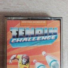 Videojuegos y Consolas: TENPIN CHALLENGE-AMSTRAD CASSETTE-ATLANTIS-AÑO 1987.MUY DIFÍCIL.. Lote 154393354