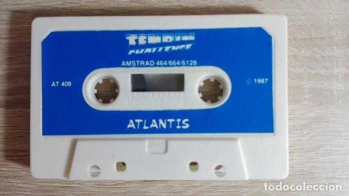 Videojuegos y Consolas: TENPIN CHALLENGE-AMSTRAD CASSETTE-ATLANTIS-AÑO 1987.MUY DIFÍCIL. - Foto 4 - 154393354