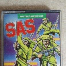 Videojuegos y Consolas: SAS ASSAULT COURSE-AMSTRAD CASSETTE-ATLANTIS-AÑO 1987.. Lote 154394010