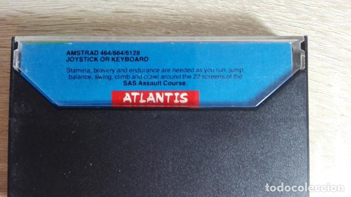 Videojuegos y Consolas: SAS ASSAULT COURSE-AMSTRAD CASSETTE-ATLANTIS-AÑO 1987. - Foto 3 - 154394010