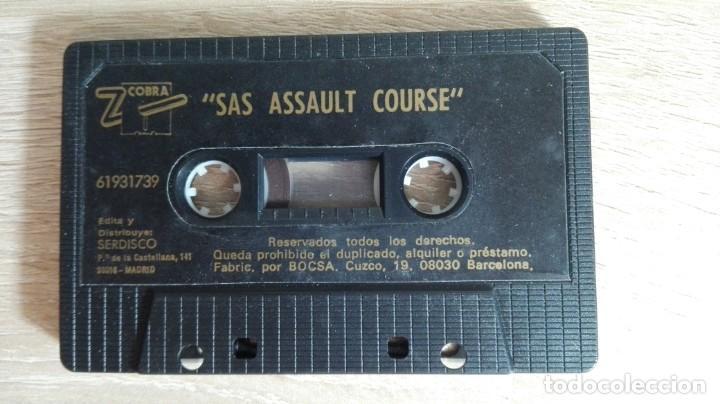 Videojuegos y Consolas: SAS ASSAULT COURSE-AMSTRAD CASSETTE-ATLANTIS-AÑO 1987. - Foto 4 - 154394010