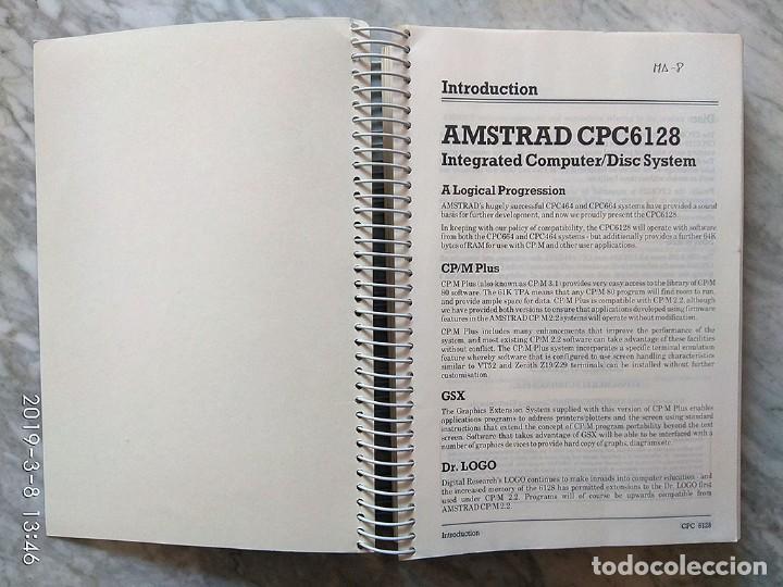 Videojuegos y Consolas: Amstrad CPC 6128 User Instructions (inglés) - Foto 2 - 154418034