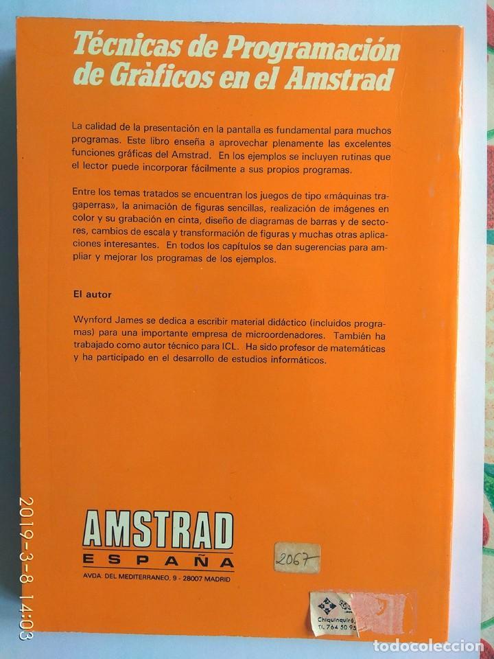Videojuegos y Consolas: Wynford James: Técnicas de programación de gráficos en el Amstrad (Amstrad España) - Foto 2 - 154431682