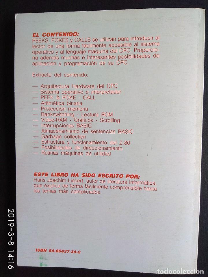 Videojuegos y Consolas: Liesert: Peeks y pokes CPC 464/6128 (Data Becker) - Foto 2 - 154442822