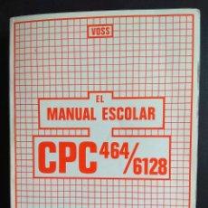 Videojuegos y Consolas: VOSS: EL MANUAL ESCOLAR CPC 464/6128 (DATA BECKER). Lote 154445546
