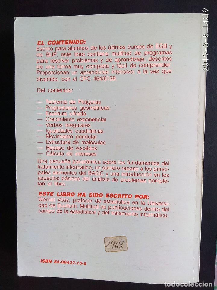 Videojuegos y Consolas: Voss: El manual escolar CPC 464/6128 (Data Becker) - Foto 2 - 154445546
