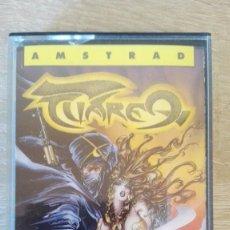 Videojuegos y Consolas: TUAREG-AMSTRAD CASSETTE-TOPO SOFT-AÑO 1988-CARÁTULA DE AZPIRI-NUEVO SIN ESTRENAR.. Lote 154505122