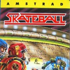 Videojuegos y Consolas: SKATEBALL-AMSTRAD CASSETTE-UBI SOFT VERSIÓN ESPAÑOLA-AÑO 1989.. Lote 155027234