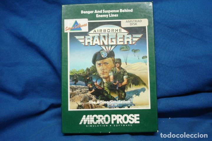 Videojuegos y Consolas: AIRBORNE RANGER - JUEGO AMSTRAD DISK - Foto 4 - 155250342