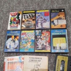 Videojuegos y Consolas: JUEGOS Y PROGRAMAS AMSTRAD CINTA CASSETTE JACK , CATCH 23 MICRO BALL ETC( MAX NO INCLUIDO). Lote 155300842