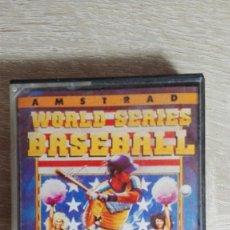 Videojuegos y Consolas: WORLD SERIES BASEBALL-AMSTRAD CASSETTE-THE HIT SQUAD-AÑO 1989-EDICIÓN ESPAÑOLA.. Lote 155433230