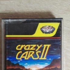 Videojuegos y Consolas: CRAZY CARS II-AMSTRAD CASSETTE-PROEIN SOFT-TITUS-AÑO 1989-VERSIÓN ESPAÑOLA-DIFÍCIL. Lote 155433766