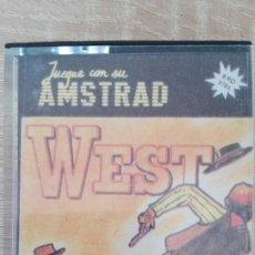 Videogiochi e Consoli: WEST-AMSTRAD CASSETTE-SYGRAN S.A.-AÑO 1987-COLECCIÓN JUEGUE CON SU AMSTRAD Nº 2.MUY DIFÍCIL. Lote 155581466