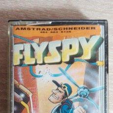 Videojuegos y Consolas: FLYSPY-AMSTRAD CASSETTE-MASTERTRONIC-AÑO 1987-MUY BUEN ESTADO-DIFÍCIL.. Lote 156657778