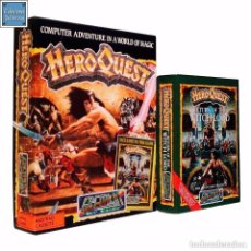 Videojuegos y Consolas: HERO QUEST HEROQUEST + EXPANSION RETURN OF THE WITCH LORD / JUEGO AMSTRAD CPC CINTA / GREMLIN 1991. Lote 156671514