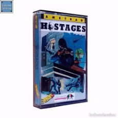 Videojuegos y Consolas: HOSTAGES / JUEGO AMSTRAD CPC CINTA / ESPAÑOL / INFOGRAMES ERBE 1990. Lote 157274486