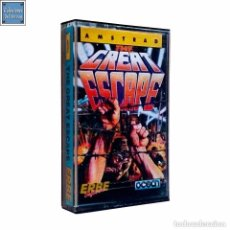 Videojuegos y Consolas: THE GREAT ESCAPE / LA GRAN EVASIÓN / JUEGO AMSTRAD CPC CINTA / ESPAÑOL / OCEAN ERBE 1986 (B WAKELIN). Lote 157433662