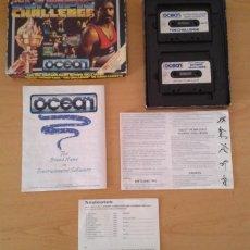 Videojuegos y Consolas: JUEGO AMSTRAD CPC 464 6128 DALEY THOMPSON OLYMPIC CHALLENGE CAJA GRANDE COMPLETO R8873. Lote 158516614