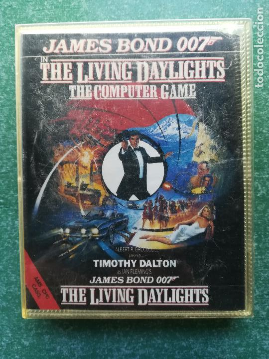 Videojuegos y Consolas: JUEGO AMSTRAD JAMES BOND 007 IN THE LIVING DAYLIGHTS - cinta - Foto 1 - 158896554