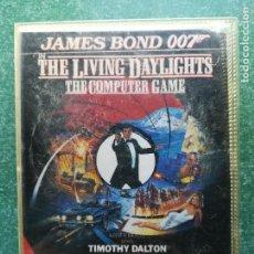 Videojuegos y Consolas: JUEGO AMSTRAD ' JAMES BOND 007 IN THE LIVING DAYLIGHTS ' - CINTA . Lote 158896554