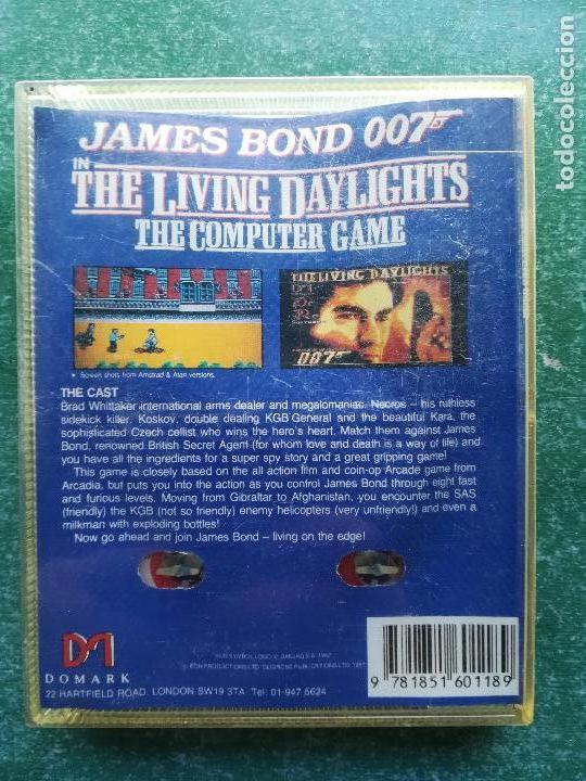 Videojuegos y Consolas: JUEGO AMSTRAD JAMES BOND 007 IN THE LIVING DAYLIGHTS - cinta - Foto 5 - 158896554
