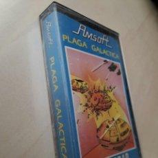Videojuegos y Consolas: AMSTRAD JUEGO K7 -PLAGA GALÁCTICA- AMSOFT /VINTAGE 80S/MITICO. Lote 158947758