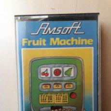 Videojuegos y Consolas: AMSTRAD JUEGO K7 -FRUIT MACHINE- AMSOFT/VINTAGE 80S/MITICO. Lote 158948222