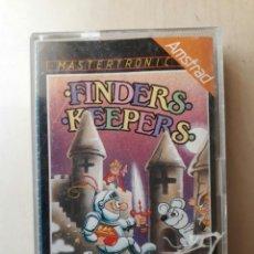 Videojuegos y Consolas: AMSTRAD JUEGO K7 -FINDERS KEEPER- VINTAGE 80S/ MITICO. Lote 158948938