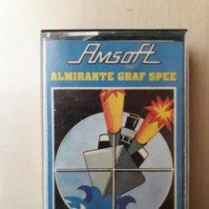 Videojuegos y Consolas: AMSTRAD JUEGO K7 -ALMIRANTE GRAF-AMSOFT/VINTAGE 80S/MITICO. Lote 158949798