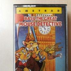 Videogiochi e Consoli: AMSTRAD JUEGO K7 - BASIL THE GREAT MOUSE DETECTIVE- AMSOFT/VINTAGE 80S/MITICO. Lote 158950230
